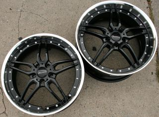 GIOVANNA CALIFIVE L5 20 BLACK RIMS WHEELS NISSAN 370Z STAG / 20 X 8.5