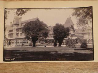 Johnsom 5 albumen photos Hotel del Monte 1890 Monterey California
