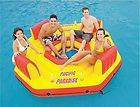 """Intex """"Pacific Paradise Island Lounge"""" Inflatable Float w/Free Air"""