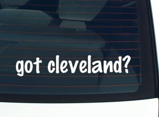 cleveland? FAMILY LAST NAME SURNAME FUNNY DECAL STICKER VINYL WALL CAR