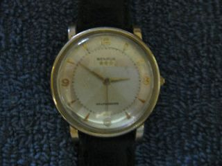 Benrus *** Selfwinding mens,17 jewel,swiss made, 10Krolled gold plate