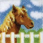 Wonderart Latch Hook Kit 12X12 Pony