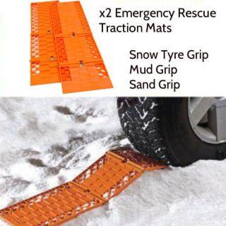 Car Van Truck Tyre Grip Snow Mud Sand Rescue Escaper Traction Tracks