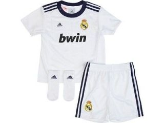 JREAL07 Real Madrid Adidas infants kit   2012 2013 kids shirt