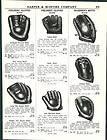 Baseball Gloves DiMaggio Personal Model Bill Dickey Catchers Mitt