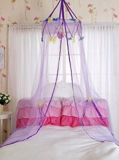 Baby Toddler Children Kid Butterfly Lace Mosquito Bed Canopy Net