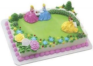 DISNEY PRINCESS GARDEN ROYALTY Cake Kit Topper Birthday
