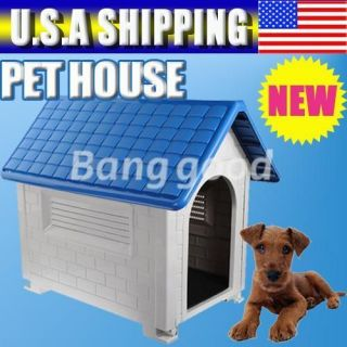 Resin All Weather Large Outdoor Pet Doggie Dog Puppy Cats House home