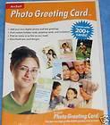 New Arcsoft photo greeting card software