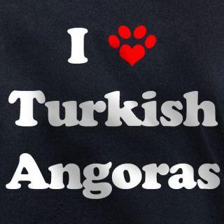 LOVE TURKISH ANGORAS T SHIRT angora cat kitten gift