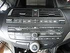 08 12 ACCORD RADIO STEREO 6 DISC CHANGER CD PLAYER 3PA0 XM SAT AUX 09