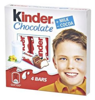 6x Kinder Chocolate 50g 4 chocolate bars in each box