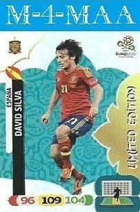 New Adrenalyn XL UEFA EURO 2012 DAVID SILVA Limited Edition PANINI