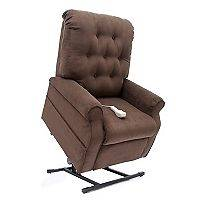 Power Recline and Lift Chair   Various Colors Chocolate