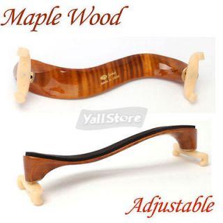 New 3/4 4/4 Size Maple Wood Violin Shoulder Rest Delux High Quality