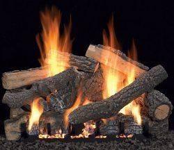 propane gas logs in Decorative Logs, Stone & Glass