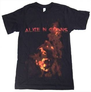 ALICE IN CHAINS   3RD THIRD DEGREE SCREAM BLACK T SHIRT   NEW SMALL S