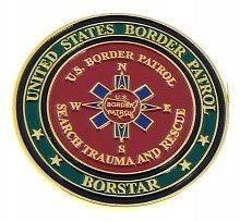 Border Patrol Search, Trauma & Rescue Team Challenge Coin