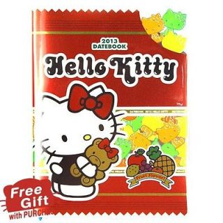 Hello Kitty Schedule Book Monthly Planner Agenda Diary Fruit Kitty A6