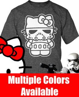Hello Kitty Stormtrooper Combo Shirt S 2X NEW Hello Stormtrooper $13