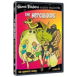 NEW 2 dvd HERCULOIDS Complete Original Animated Series
