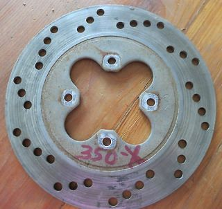 Honda 3 wheeler 350X rear brake rotor disc.