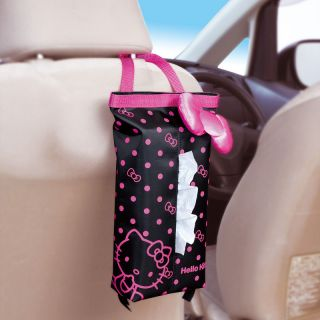 Sanrio Hello Kitty and Ribbon Auto Car Back Seat Tissue Dispenser