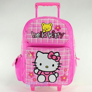 hello kitty rolling backpack in Clothing,