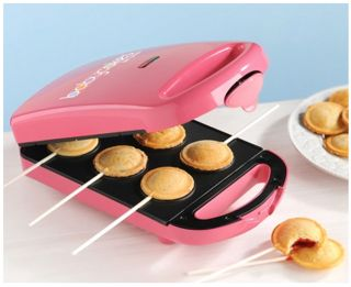 New Babycakes PM 16 6 Pie Pop Maker Minature Nonstick Coated Cakes