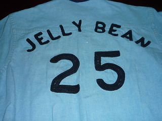 "RARE Hot Rod Box Car Club DENIM JACKET ""Jelly Bean"" #25 Youth Size"
