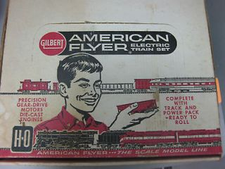 Gilbert American Flyer HO series Vintage Electric Train Set 30730