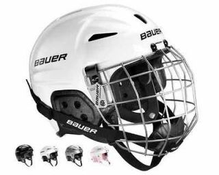 Lil Sport Youth Hockey Skiing Skating Helmet WITH CAGE Pink or Silver