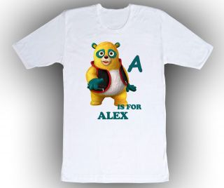Personalized Special Agent Oso ABC Birthday Shirt Add Your Name