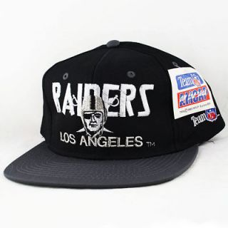 1993 Los Angeles LA Raiders Snapback Hat Vintage Cap Starter NEW