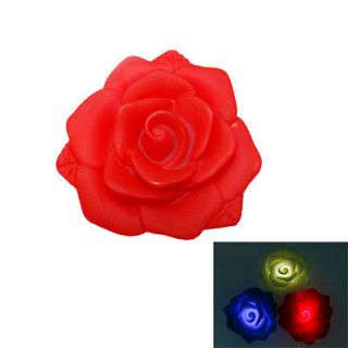 Romantic Party Wedding Red Rose Pool water floating float LED Light
