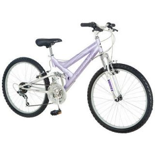 Pacific Chromium 24 Girl Mountain Bicycle Bike Lavender Chrome Purple