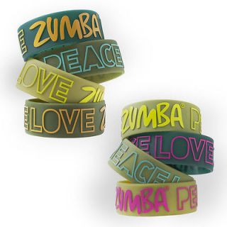 Zumba PLZ Peace Love Zumba Wide Bracelet BRAND NEW Fast shipping