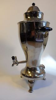Chrome Electric Tula Russia Hot Water Coffee Tea Heater 1979 Papers