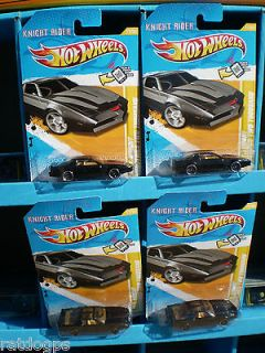 HOTWHEELS 2012 FE KNIGHT RIDER TRANS AM KITT 2000 NEW MODELS LOT OF 4