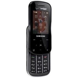 Verizon Samsung Trance SCH U490 Black  Cell Phone No Contract Used