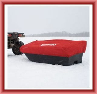 eskimo ice shelter in Ice Fishing