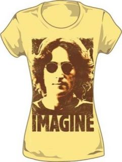 New John Lennon Imagine Womens T Shirt Size Small