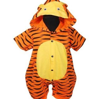 KD264 New Boys Tiger Cute Romper Baby Toddler Clothes Size 0 24months