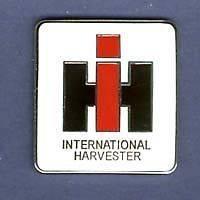 IH INTERNATIONAL HARVESTER TRACTOR TRUCK IHC HAT PIN LAPEL BADGE #1278