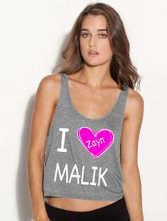 love zayn malik ladies FLOWY BOXY TANK TOP tshirt one direction i