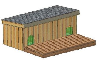 DOG HOUSE PLANS, 15 TOTAL, MULTIPLE DOG KENNEL PLANS FOR 2+ DOGS