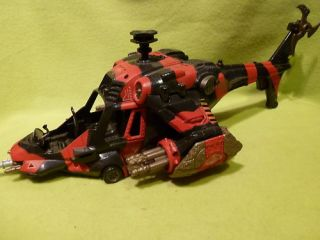 JOE GI JOE 3 3/4 ACTION FIGURE COBRA ATTACK CHOPPER HELICOPTER