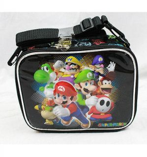 Licensed Super Mario Bros. BLACK Insulated Lunch Bag