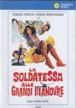 LA SOLDATESSA ALLE GRANDI MANOVRE Edwige Fenech DVD