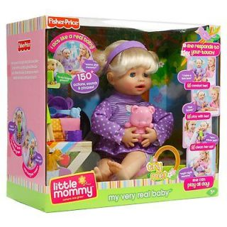 Fisher Price Little mommy my very real baby NEW IN BOX ages 3
